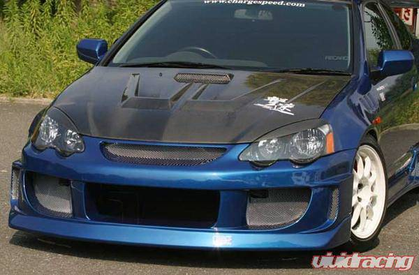 Acura Rsx Chargespeed Wide Body Full Body Kit Cs207fkw