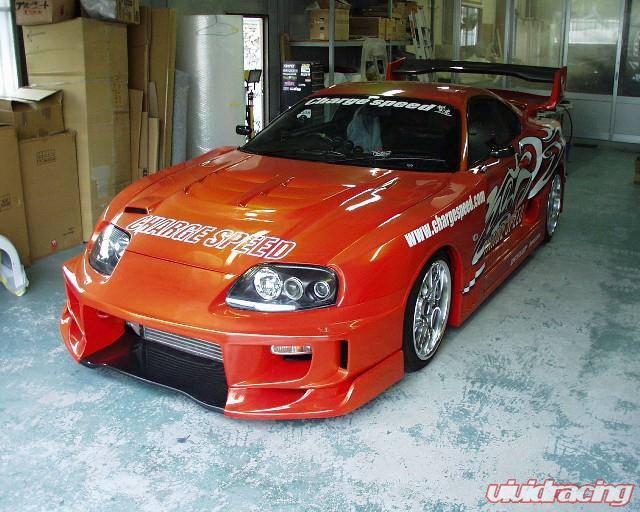 Toyota Supra Chargespeed Full Body Kit Cs890fkw