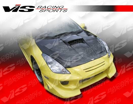 Toyota Celica Vis Racing Zyclone Hood Scoop Carbon Fiber 00tycel2dzyc 009c