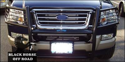 Black Ford Explorer >> Ford Explorer Black Horse Modular Push Bar Guard
