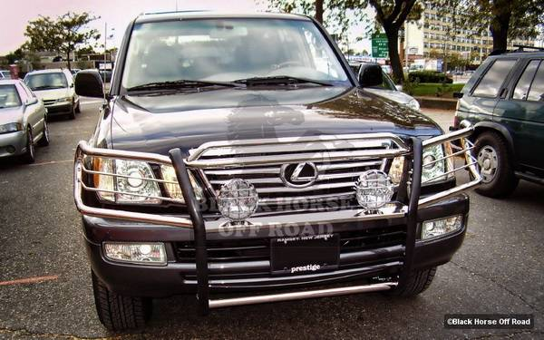 lexus lx black horse push bar guard lexus lx black horse push bar guard