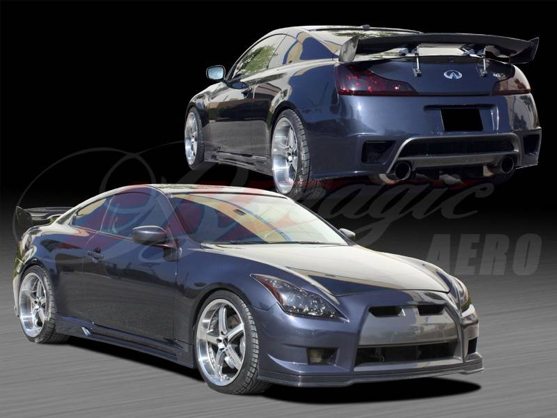 Infiniti G37 Ait Racing Gt R Style Body Kit G3708bmgtrck2