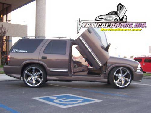 Chevrolet Blazer Vdi Vertical Lambo Door Hinge Kit Direct Bolt On