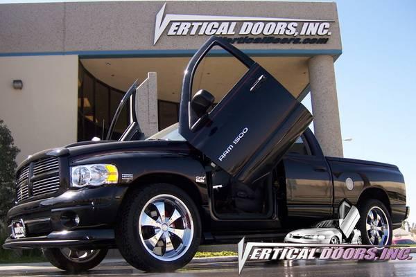 Dodge Ram Vdi Vertical Lambo Door Hinge Kit Direct Bolt On Vdcdram0208