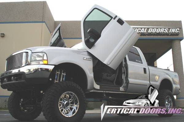 Vertical Doors Inc - Ford F250 Superduty VDI Vertical Lambo Door Hinge Kit - Direct Bolt & Ford F250 Superduty VDI Vertical Lambo Door Hinge Kit - Direct Bolt ...