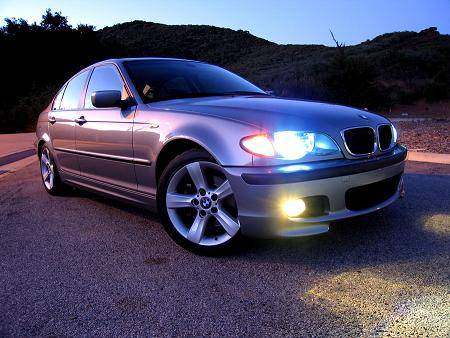 BMW E46 HID upgrade and Fog Light HID