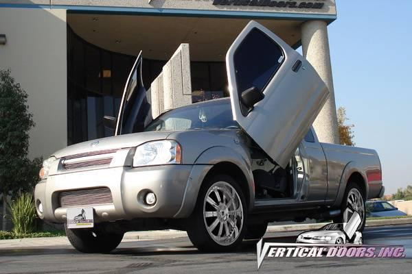 Vertical Doors Inc - Nissan Frontier VDI Vertical Lambo Door Hinge Kit - Direct Bolt On & Nissan Frontier VDI Vertical Lambo Door Hinge Kit - Direct Bolt On ...