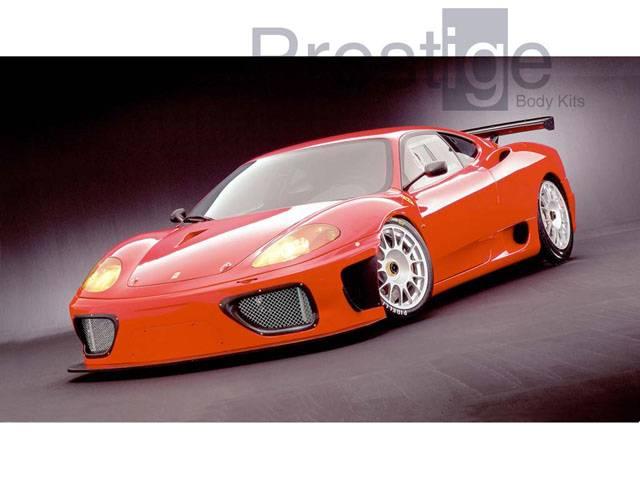 Ferrari F360 Ngt Complete Body Kit