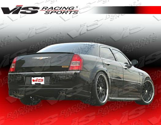 chrysler 300 vis racing ballistix rear lip 05cy300c4dbx 012. Black Bedroom Furniture Sets. Home Design Ideas