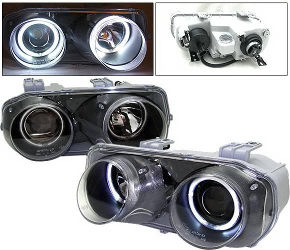 Acura Integra 4 Car Option Dual Halo Projector Headlights