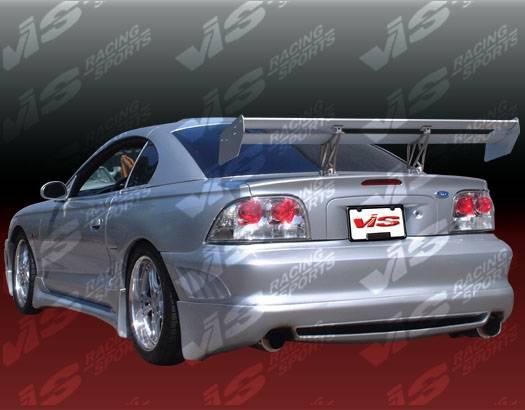 ford mustang vis racing viper rear bumper 94fdmus2dvr 002. Black Bedroom Furniture Sets. Home Design Ideas