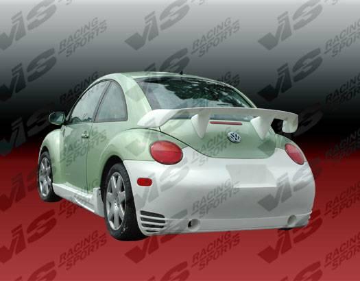 volkswagen beetle vis racing gtc rear bumper. Black Bedroom Furniture Sets. Home Design Ideas