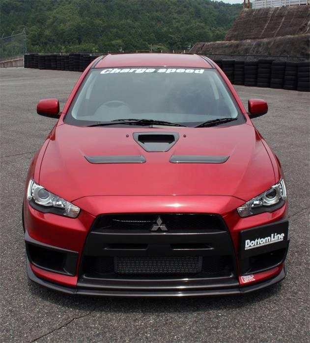 2013 Mitsubishi Lancer Exterior: Mitsubishi Lancer Chargespeed Bottom Line Type-1 Front Lip