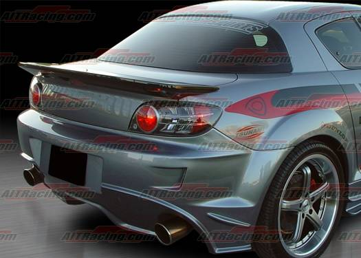 mazda rx-8 ait racing wangon style rear spoiler - m803hiwgnrw