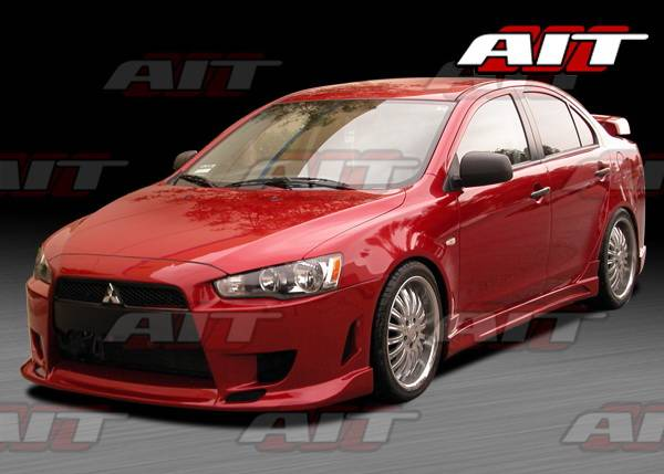 Mitsubishi Lancer Ait Racing C Weapon Style Front Bumper Ml08hicwsfb