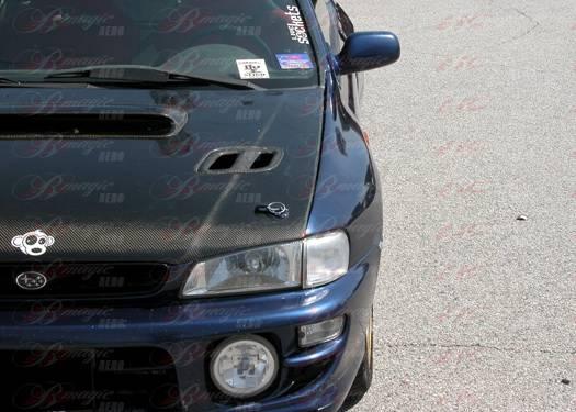 Subaru Impreza AIT Racing B22 Style Wide Front Fenders - SI93BMB22FF