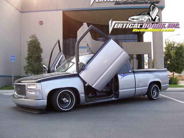 Chevrolet C1500 Pickup Vertical Doors Inc Vertical Lambo