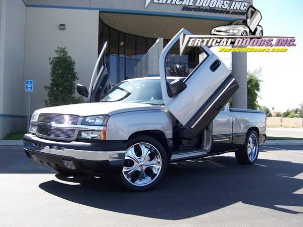 Vertical Doors Inc   Chevrolet Silverado Vertical Doors Inc Vertical Lambo  Door Kit   VDCCHEVY/