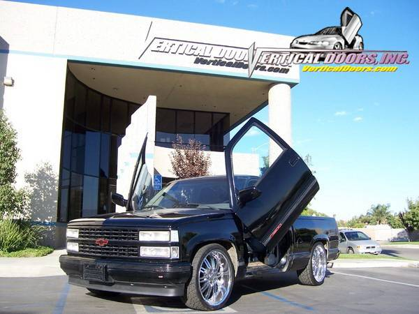Chevrolet Silverado Vertical Doors Inc Vertical Lambo Door