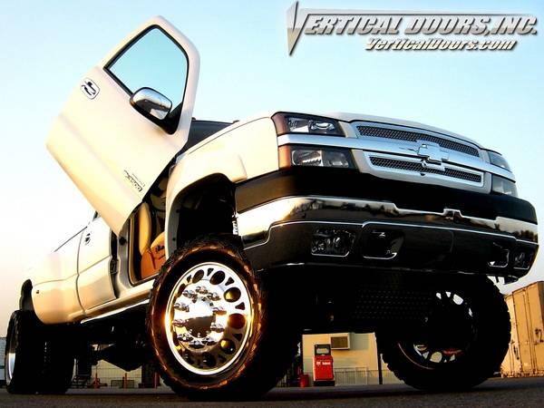 Chevrolet Silverado Vertical Doors Inc Vertical Lambo Door