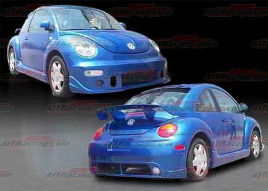 Volkswagen Beetle AIT Racing BCN-1 Style Complete Body Kit - VWB98HIBCN1CK