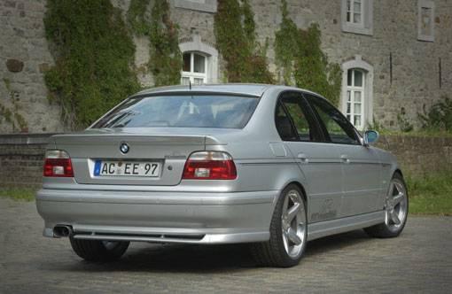 E Touring Rear AddOn Spoiler W Schnitzer Muffler Or Muffler Tip - Ac schnitzer spoiler