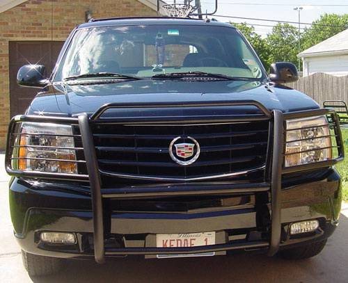 cadillac escalade aries grille guard 1pc cadillac escalade aries grille guard 1pc
