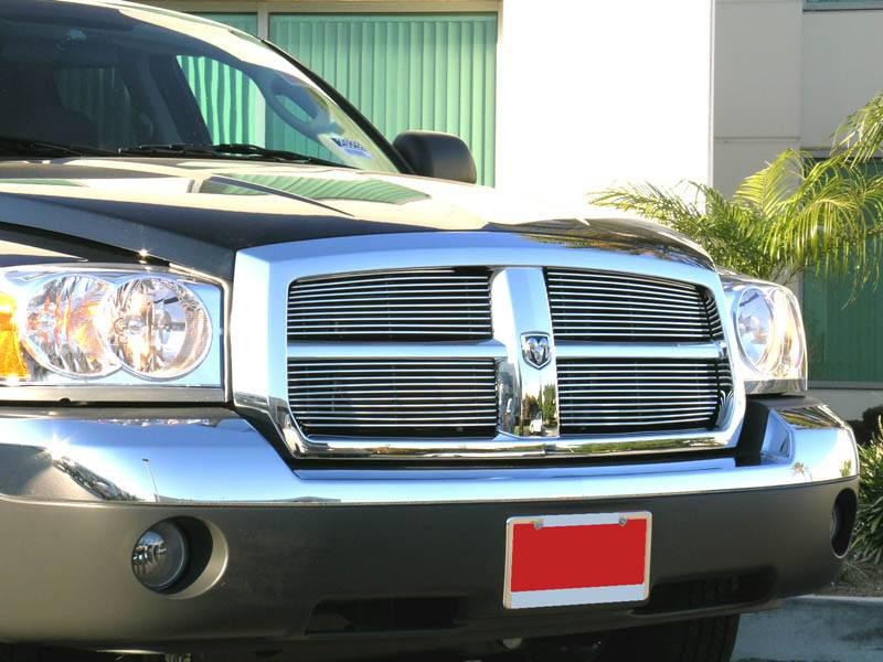 Fits 2005-2007 Dodge Dakota Main Upper Billet Grille Insert