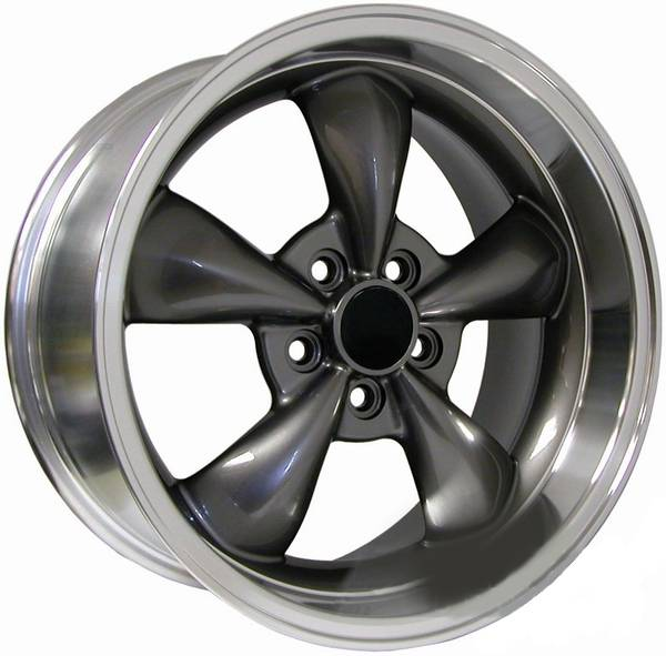 Ford Mustang Anthracite Deep Dish Bullitt Wheel