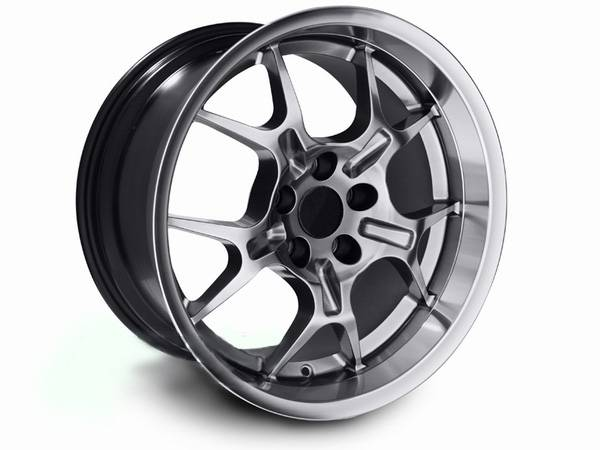 Ford Mustang Hypercoated Deep Dish Gt4 Wheel