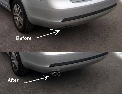 Custom Jetta Tdi Exhaust Tip