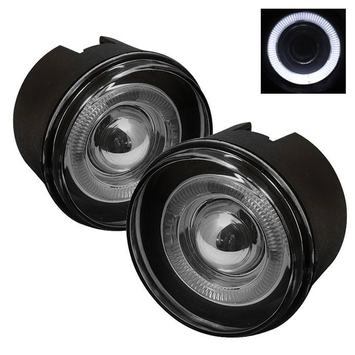 Jeep Grand Cherokee Spyder Halo Projector Fog Lights With