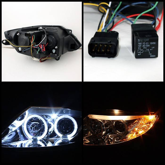Bmw Z4 Spyder Projector Headlights Xenon Hid Model Only