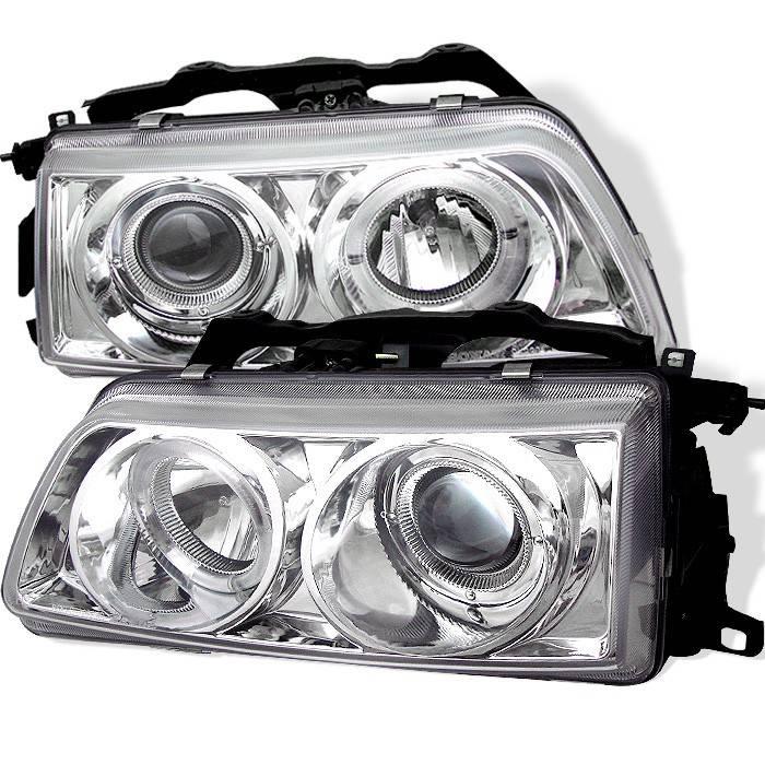 honda civic spyder projector headlights led halo. Black Bedroom Furniture Sets. Home Design Ideas