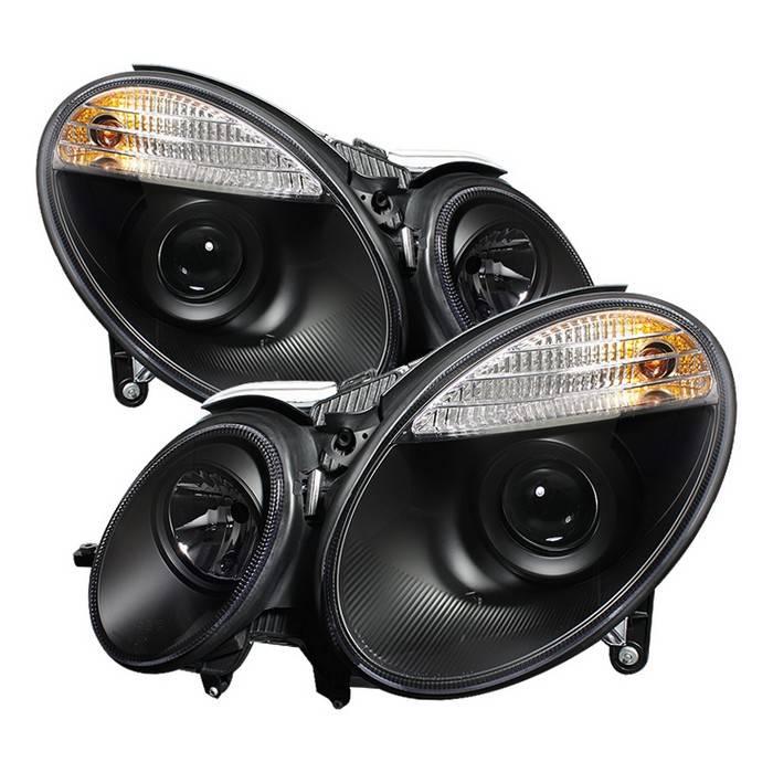 Mercedes benz e class spyder projector headlights xenon for Mercedes benz xenon headlights