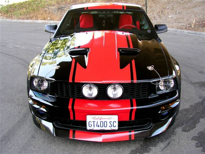 Ford Mustang Trufiber Mach 1 Hood Tf10024 A29