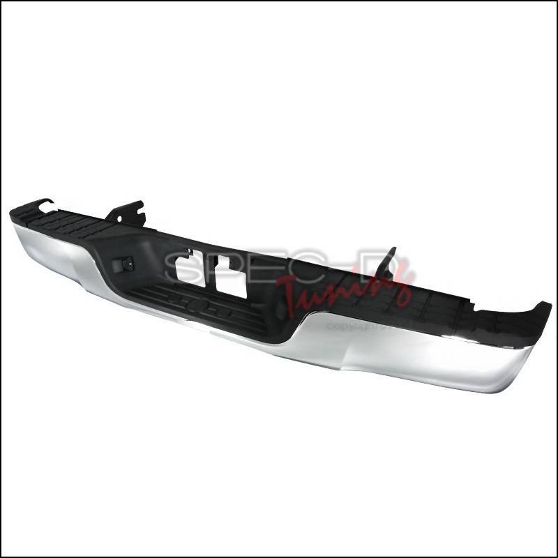 toyota tundra spec d rear bumper step chrome srb tun07acr fs. Black Bedroom Furniture Sets. Home Design Ideas