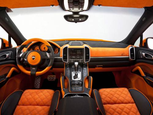Canyon - Car Interior