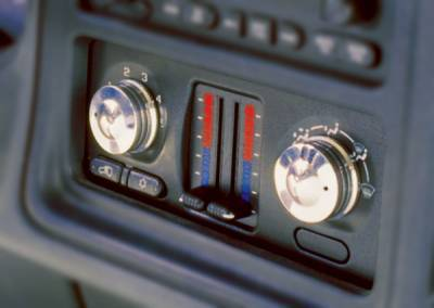 Car Interior - Dash Knobs