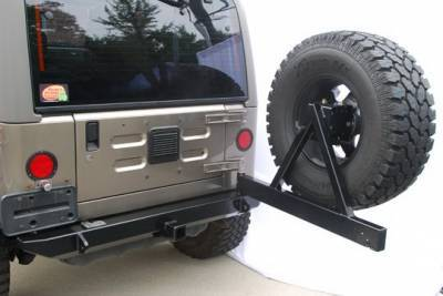 SUV Truck Accessories - Spare Tire Relocators