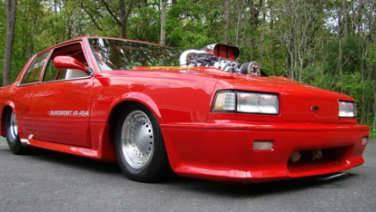 Junkyard Find: 1989 Chevrolet Celebrity Station Wagon