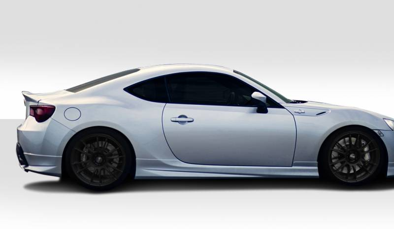 Subaru Brz Duraflex Modellista Look Side Skirt Rocker