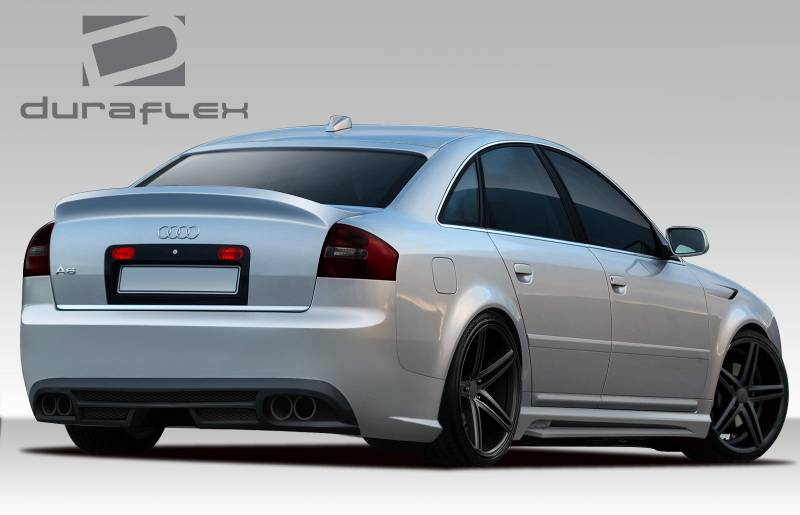 audi a6 duraflex ct r rear bumper cover 1 piece 108960. Black Bedroom Furniture Sets. Home Design Ideas