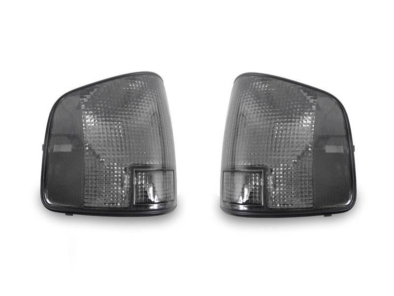 Depo Chevy S10 Gmc Sonoma Smoke Tail Light Set