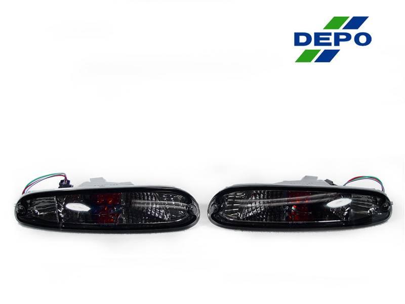 Mazda Mk 1 Mx 5 Miata Crystal Smoke Depo Bumper Signal Light