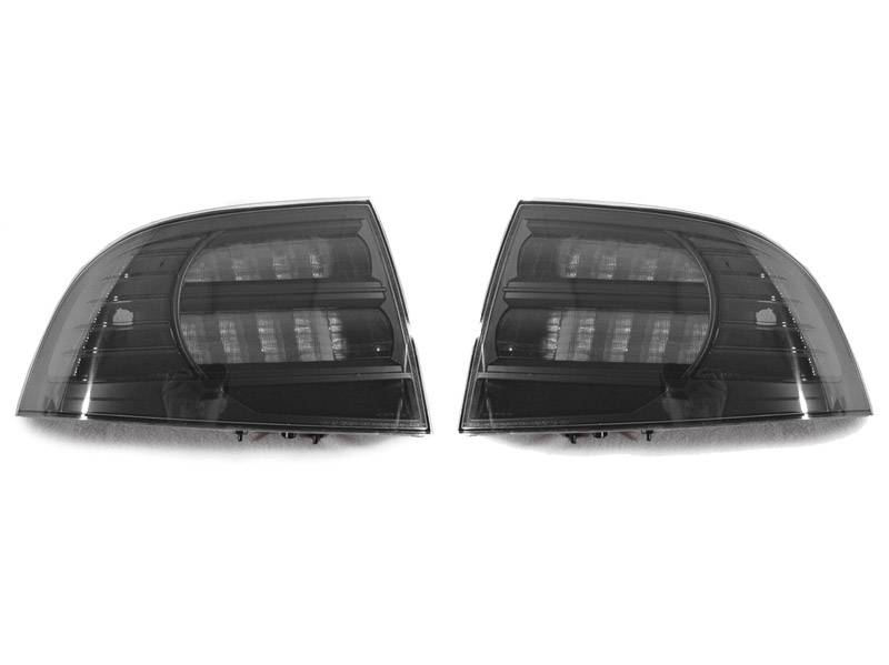 Acura TL BlackSmoke Rear DEPO Tail Light - 2005 acura tl tail lights