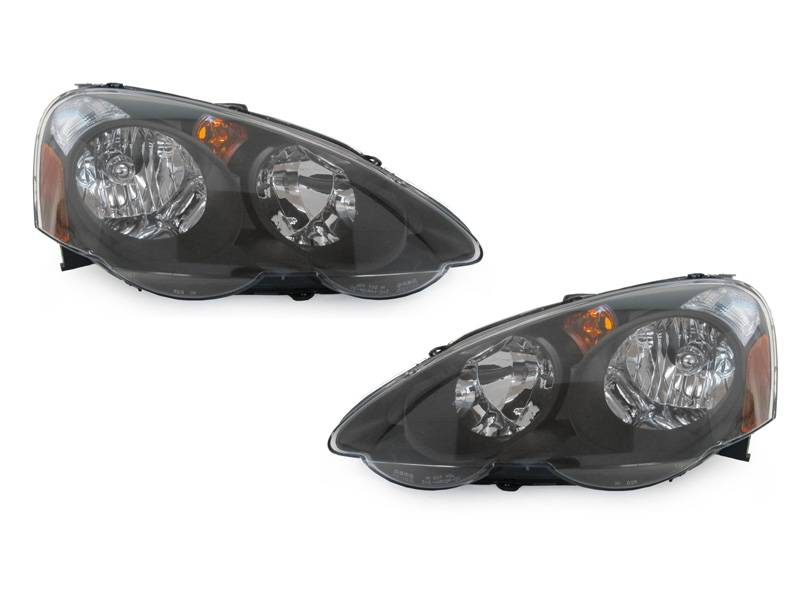 acura rsx dm black depo headlight