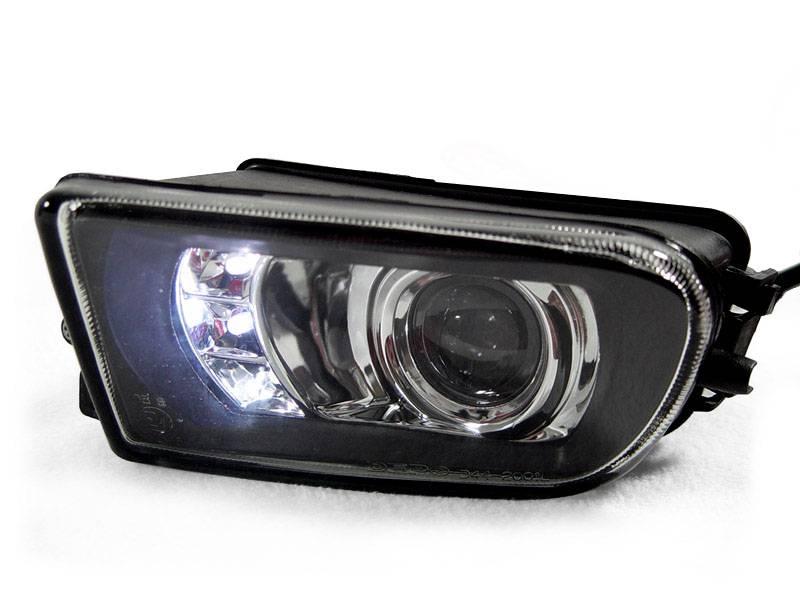 Bmw E39 5 Series Projector Depo Fog Light W Led Drl Lights