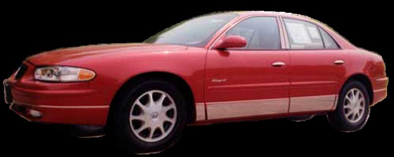 QAA fits 1997-2004 Buick Century 6 Piece Stainless Pillar Post Trim PP37541