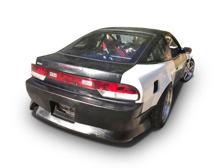 Nissan 240SX HB Bsport Style KBD Urethane Full Body Kit 37